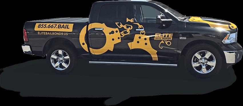 Elite Bail Bonds Truck
